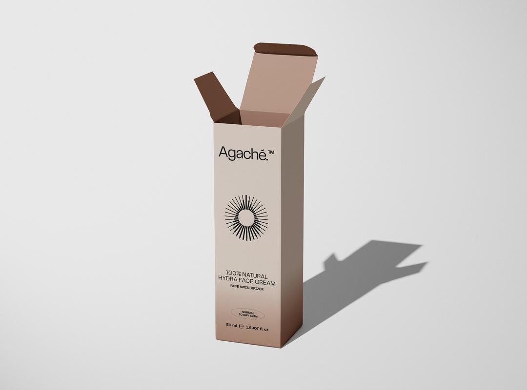 agache face moisturizer packaging