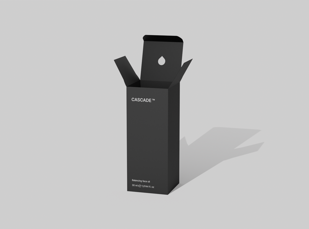 3d balancing oil product package design
