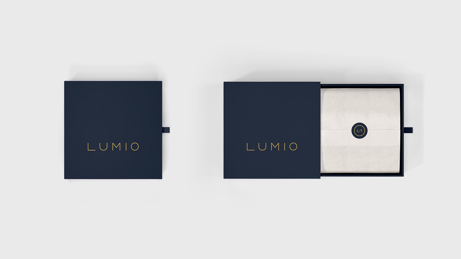 lumio jewelry packaging minimal ring